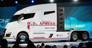 El nuevo camión de hidrógeno de Nikola