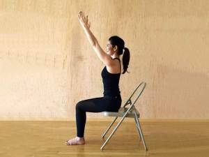 Tratamiento eficaz para la artritis - Chair Yoga