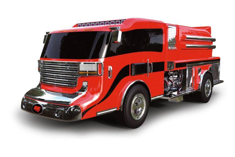 Así será el camión de bomberos del Futuro