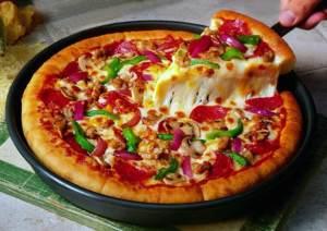 Comer pizza puede hacerlo más productivo en el trabajo