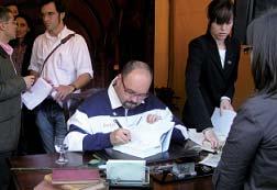 Ruiz Zafón, autor del Juego del Ángel.