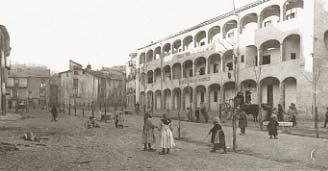 Portalada del convento de Santo Domingo