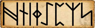 Haegl - Alfabeto Futhorc anglosajón segundo  Aett