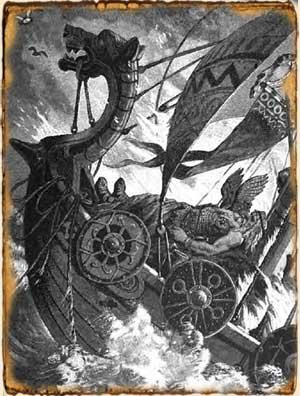 Términos vikingos - Drakkar o Langskip