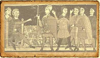 Respresentación de un juicio feudal