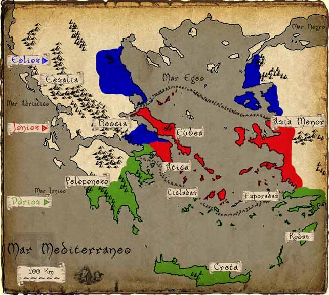 Migraciones griegas en la época arcaica