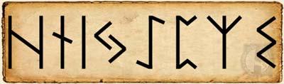 haglaz - Alfabeto Rúnico segundo Aett