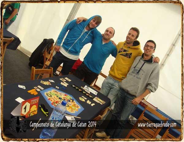 Finalistas Campeonato Catalunya Catan