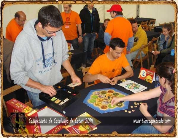 Semifinales Campeonato Catalunya Catan