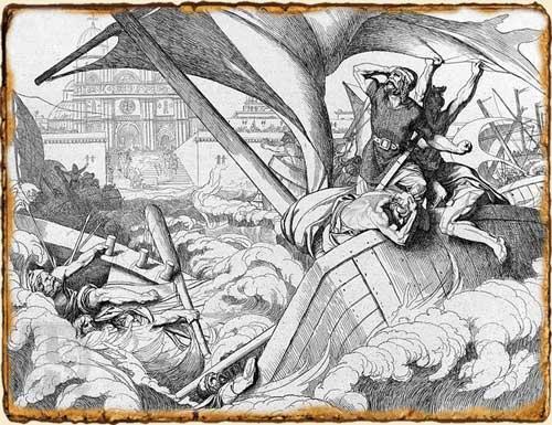 Relatos de Fantasía - Batalla naval