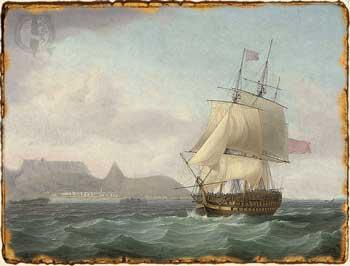 Relatos de Fantasía - Barco Navegando