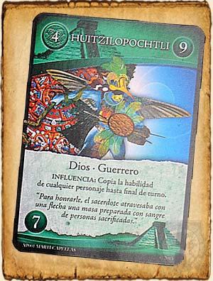 Mitologia Azteca Huitzilopochtli en Guerra de Mitos
