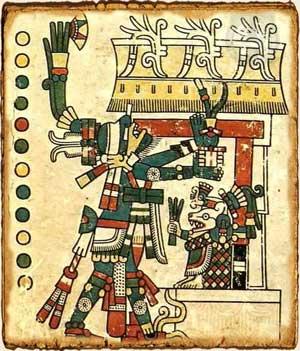 Mitologia Azteca Huitzilopochtli