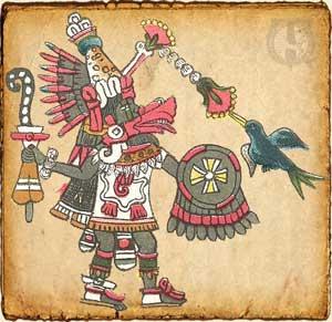 Mitologia azteca Quetzalcoatl