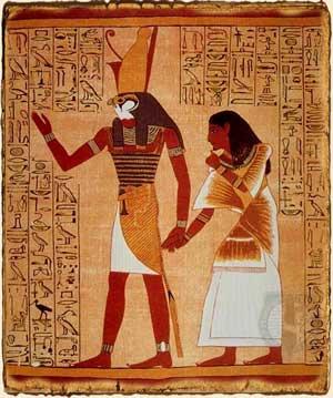 Mitología Egipcia - Horus, el dios halcón