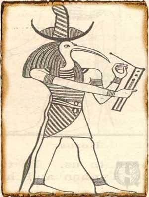 Mitología egipcia - Thot dios de la sabiduría