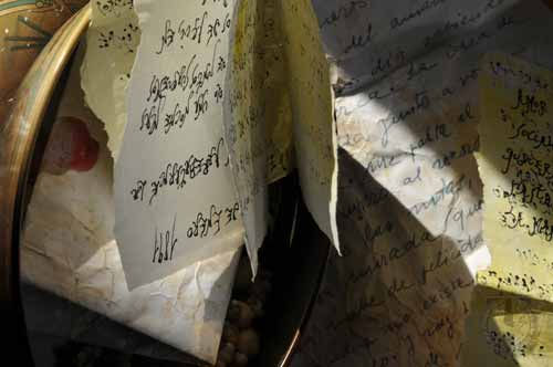 Cartas de Aurora y Mendo Mariñas