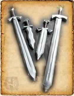 Espadas y dagas de SoftCombat