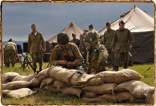 Airborne Revival 2014 - Campamento aliado