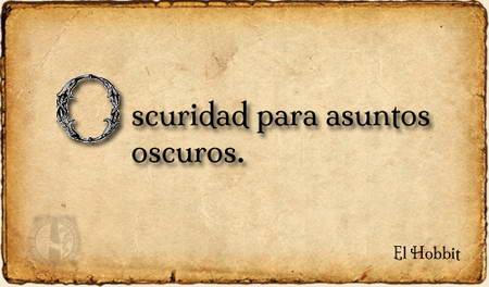 Frases en El Hobbit - Libros de Fantasía