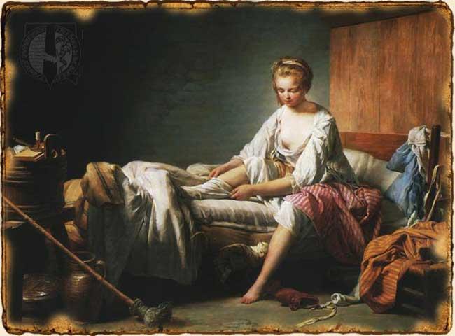 Relatos de Fantasía - Mujer en alcoba