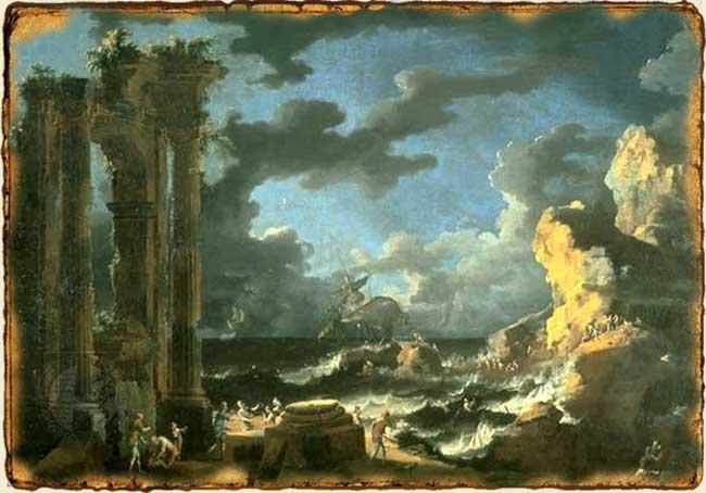 Relatos de Fantasía - Puerto en llamas