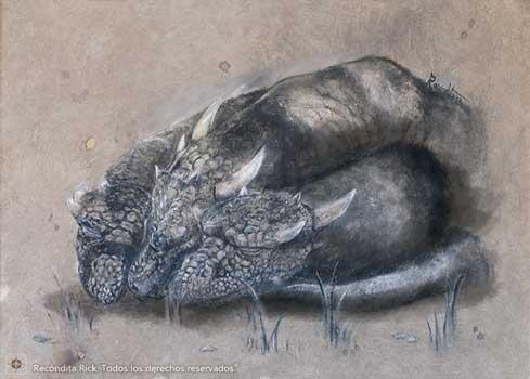 Ilustraciones de Fantasía - Dragón