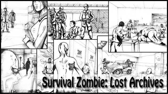 Comic Survival Zombie