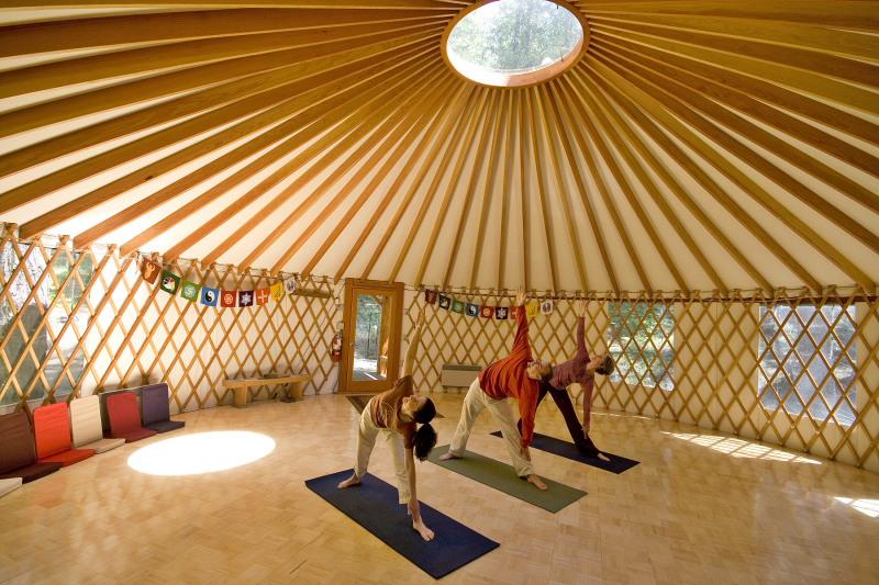Yurt  Tierra Retreat Center