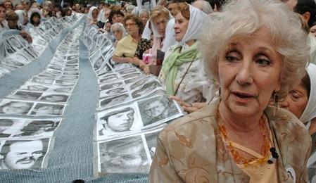Estela Barnes de Carlotto, presidente de las Abuelas de Plaza de Mayo