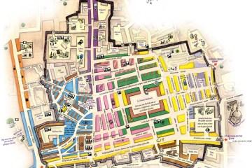 Plano del Gran Bazar