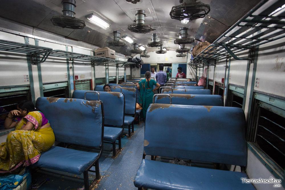 TRENES INDIA I: Categorías y Clases de tickets