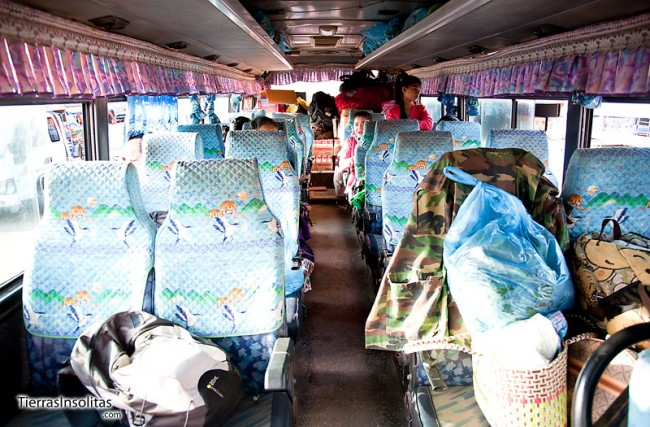 transporte de laos