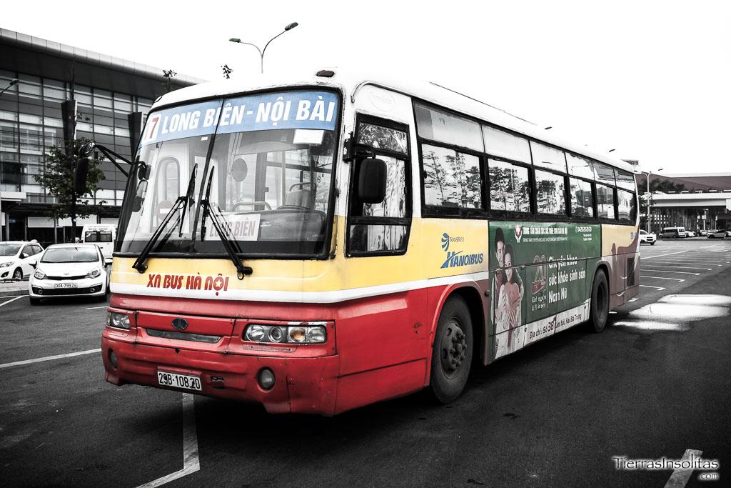 Cómo llegar al centro de Hanói desde el aeropuerto