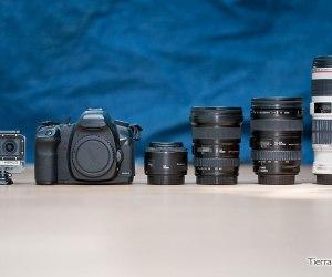 equipo fotografico para viajes