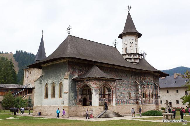 monasterio Sucevița