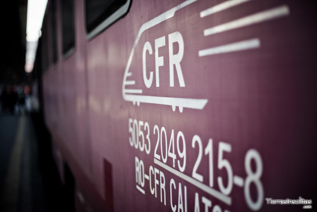 viajar en tren por rumanía