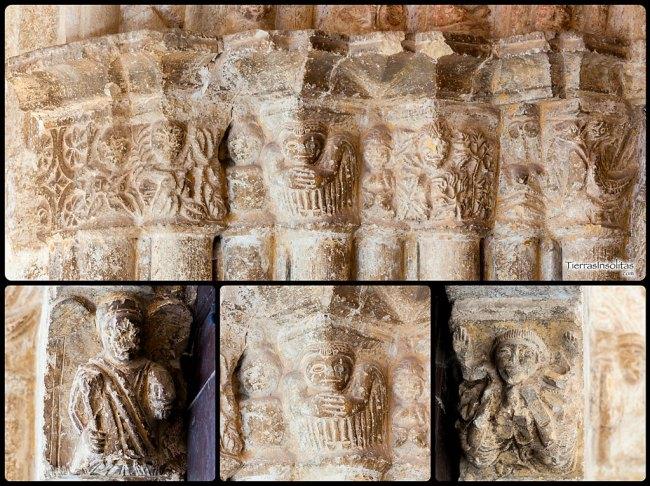 capiteles iglesia de nuestra señora de la asunción