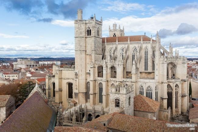 catedral san justo desde torreon gilles aycelin