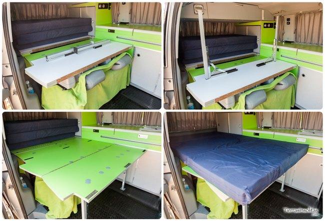 montaje cama furgoneta