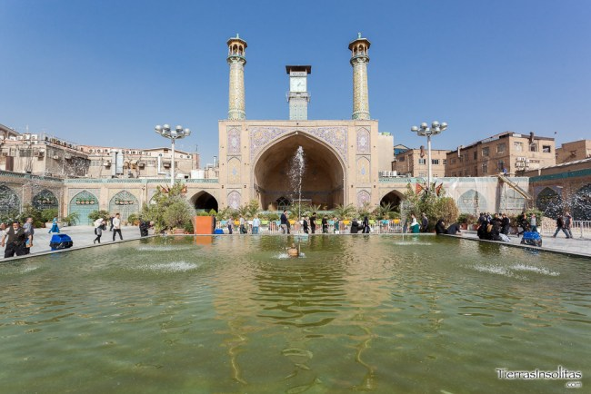 mezquita imam khomeini teherán