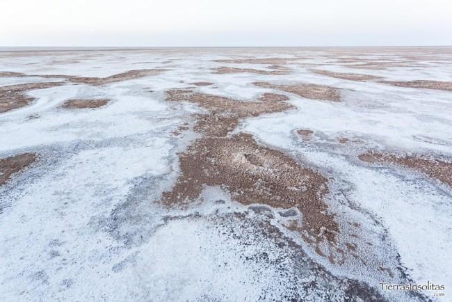 lago de sal namak