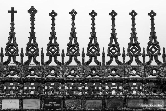 detalle cruces camposanto goiriz galicia