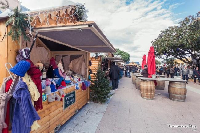 mercado de navidad arcachón