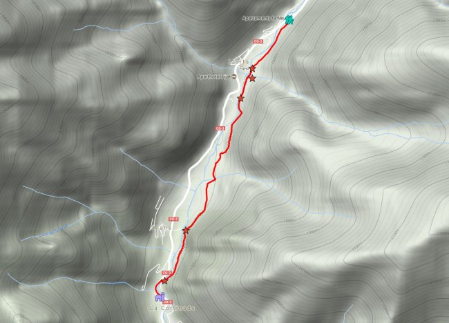 mapa ruta del ferro andorra