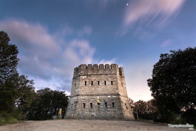 torre vigilancia el encinal nanclares de la oca