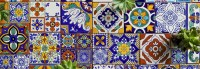 Talavera Mexican Ceramic Tile by Sets