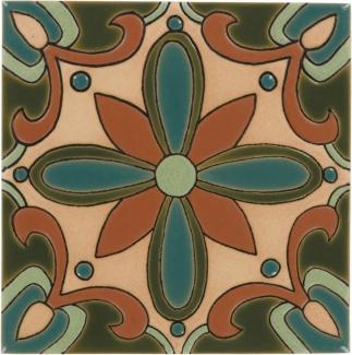 6x6 olive mira monte santa barbara ceramic tile