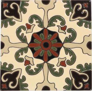 6x6 rosario 7 gloss santa barbara ceramic tile by size