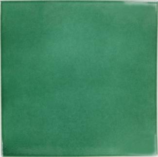 12 5 x 12 5 hunter green sevilla handmade ceramic floor tile